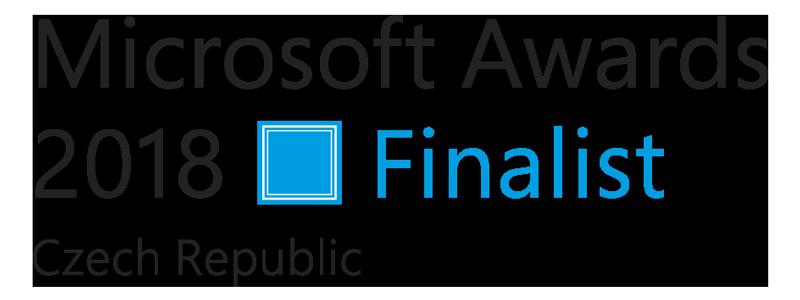 Microsoft Awards 2018 Finalist logo