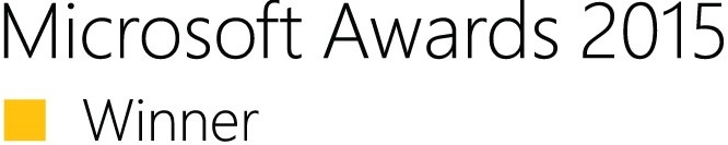 Microsoft Awards 2015 Winner